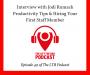 Artwork for LTBP #49 - Jodi Rumack - Productivity Tips & Hiring Your First Staff Member