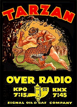 256-150414 In the Old-Time Radio Corner - Tarzan