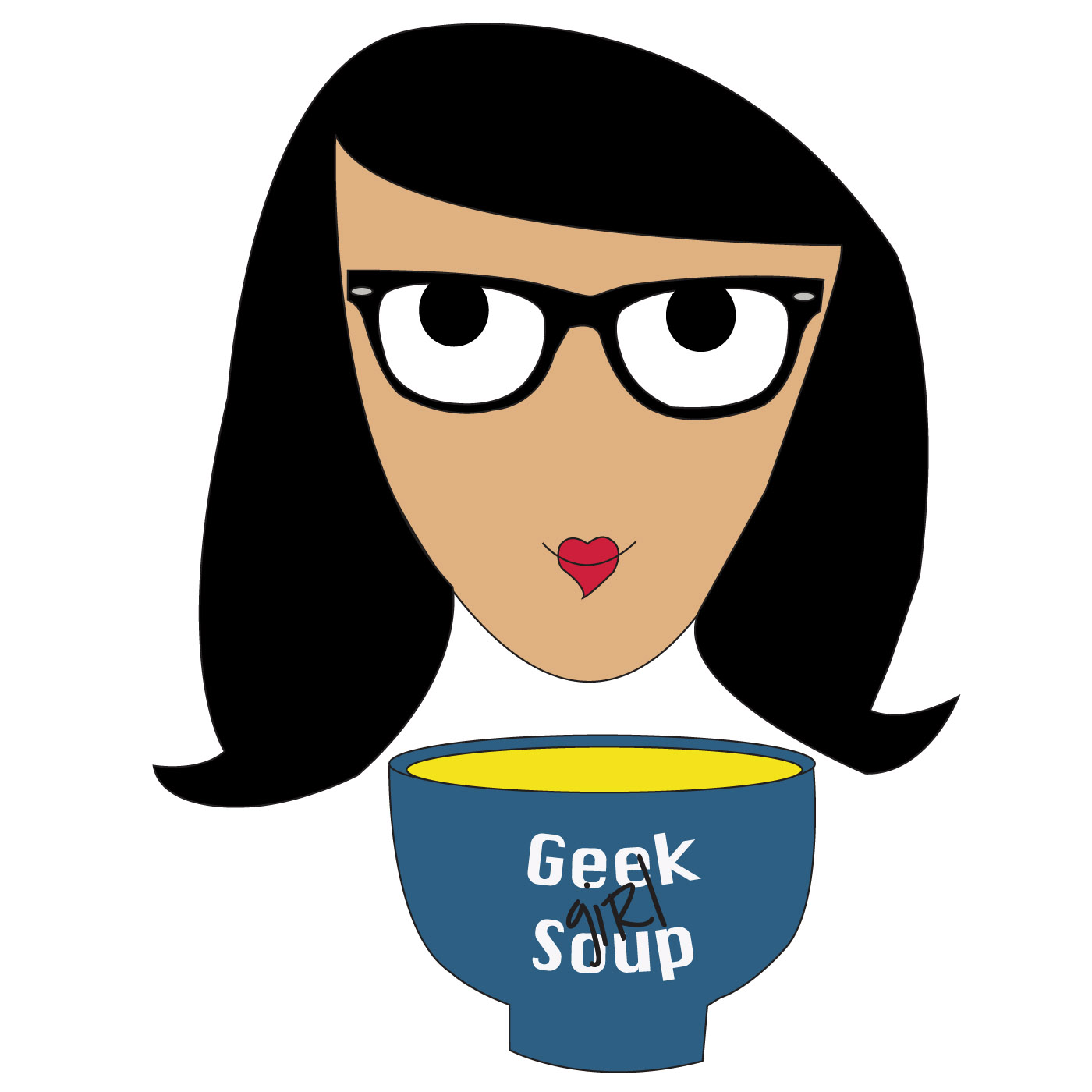 The Geek Girl Soup Podcast show art