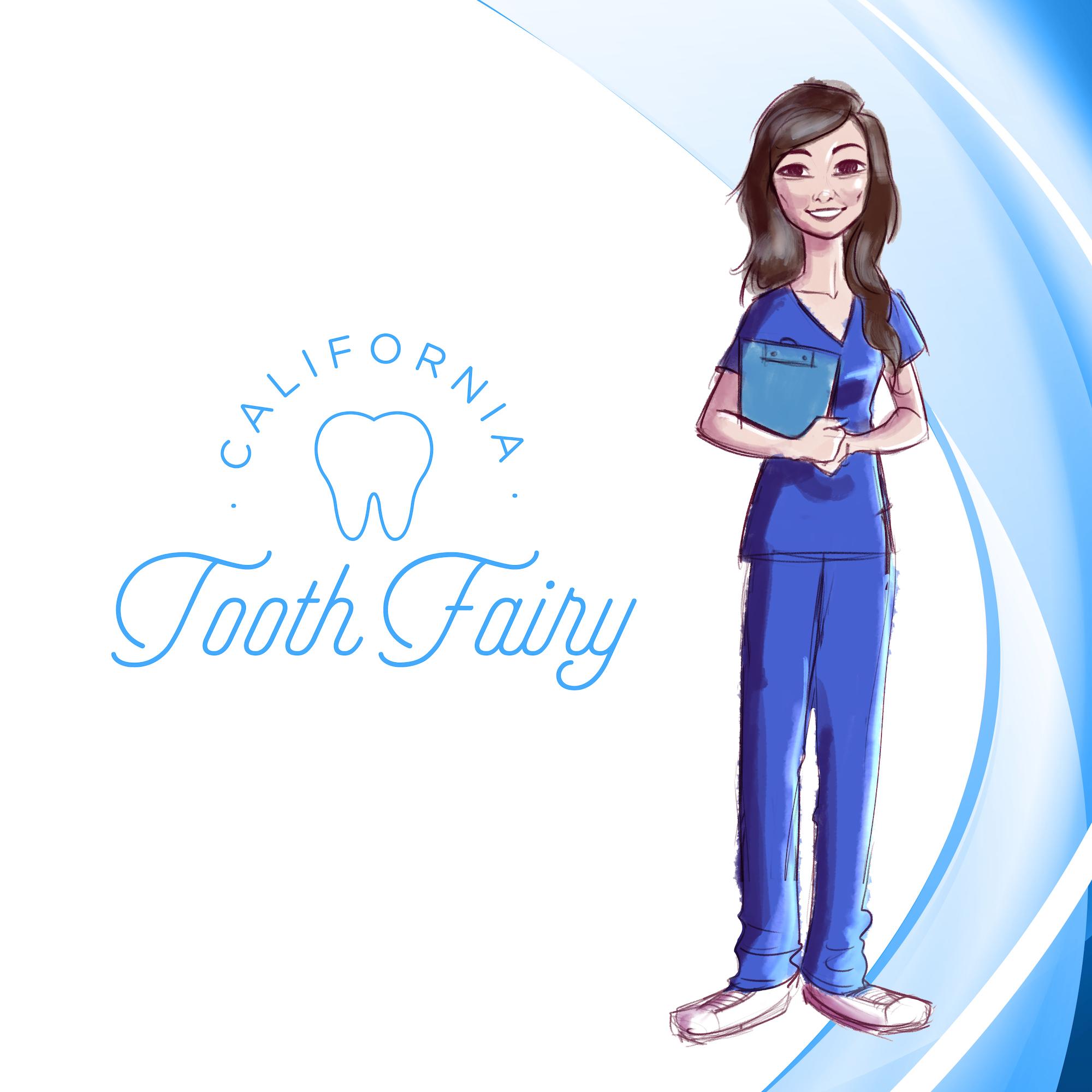 California Tooth Fairy show art