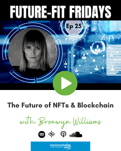 The Future of NFTs & Blockchain with Bronwyn Williams show art