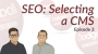 Artwork for Dodgeball Marketing Podcast #3: Selecting a CMS