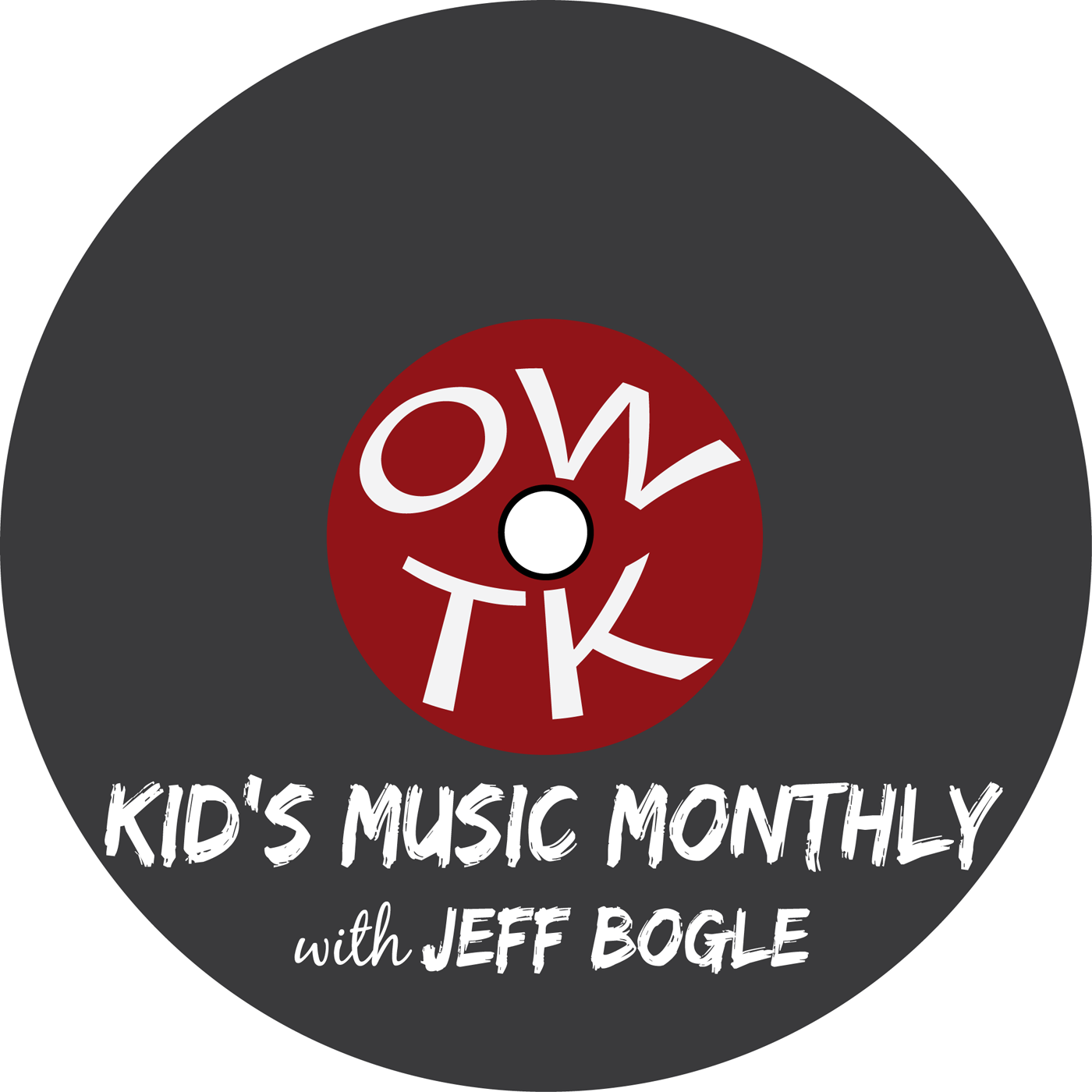 OWTK Kid's Music Monthly Podcast logo