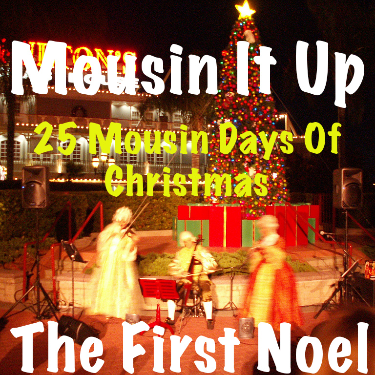 25 Mousin Days of Christmas - The First noel