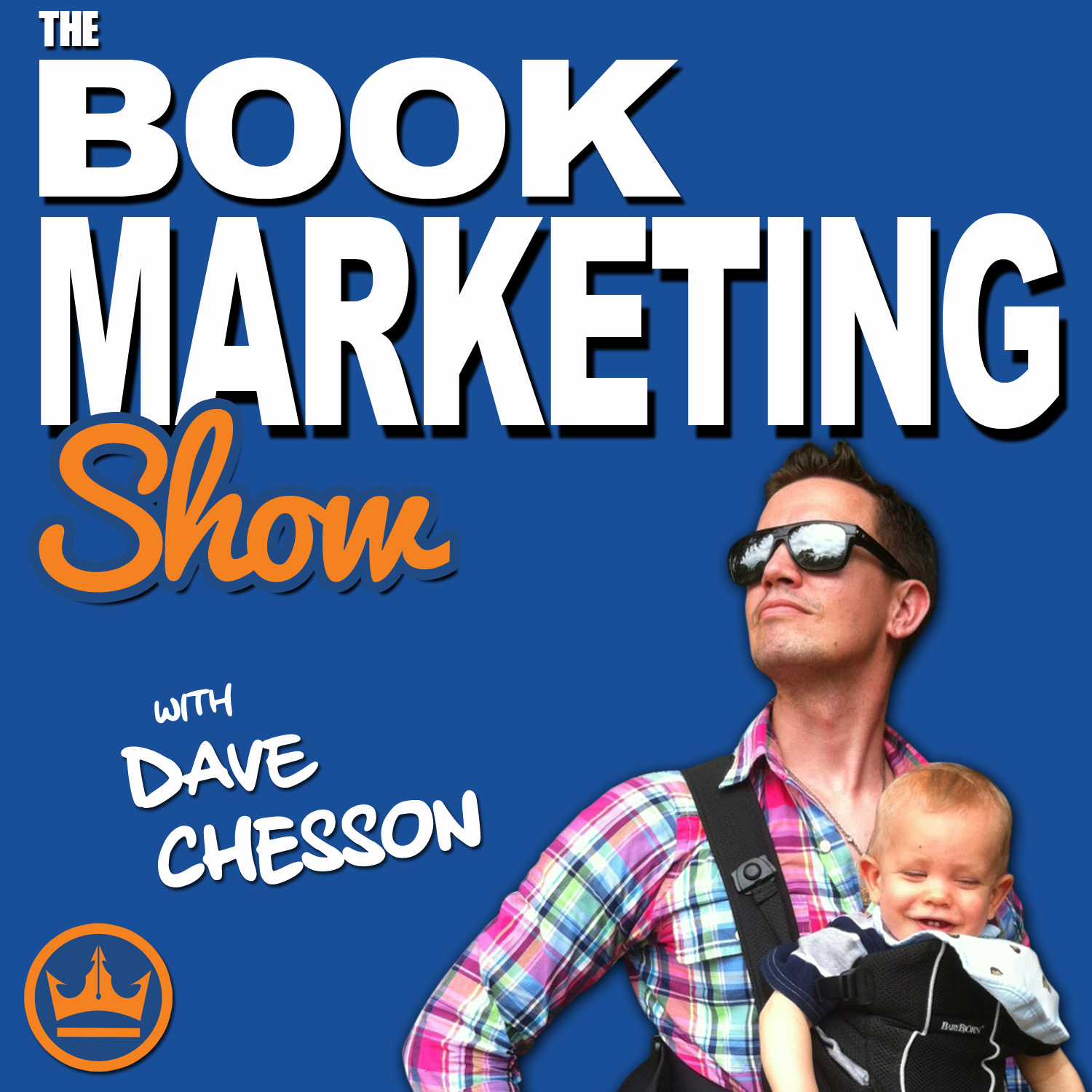 Book Marketing Show Podcast with Dave Chesson show art