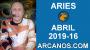 Artwork for HOROSCOPO ARIES-Semana 2019-16-Del 14 al 20 de abril de 2019-ARCANOS.COM...