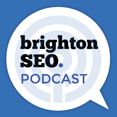 brightonSEO's podcast show art