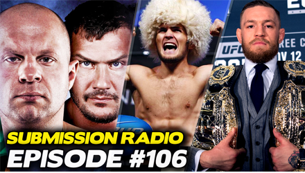 Submission Radio #106 Stephen Thompson, Luke Rockhold, Cris Cyborg, Damon Martin + UFC Sao Paulo