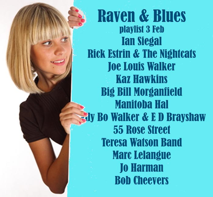 Raven and Blues 3 Feb 2017