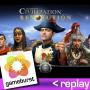 Artwork for GameBurst Replay - Civilization Revolution