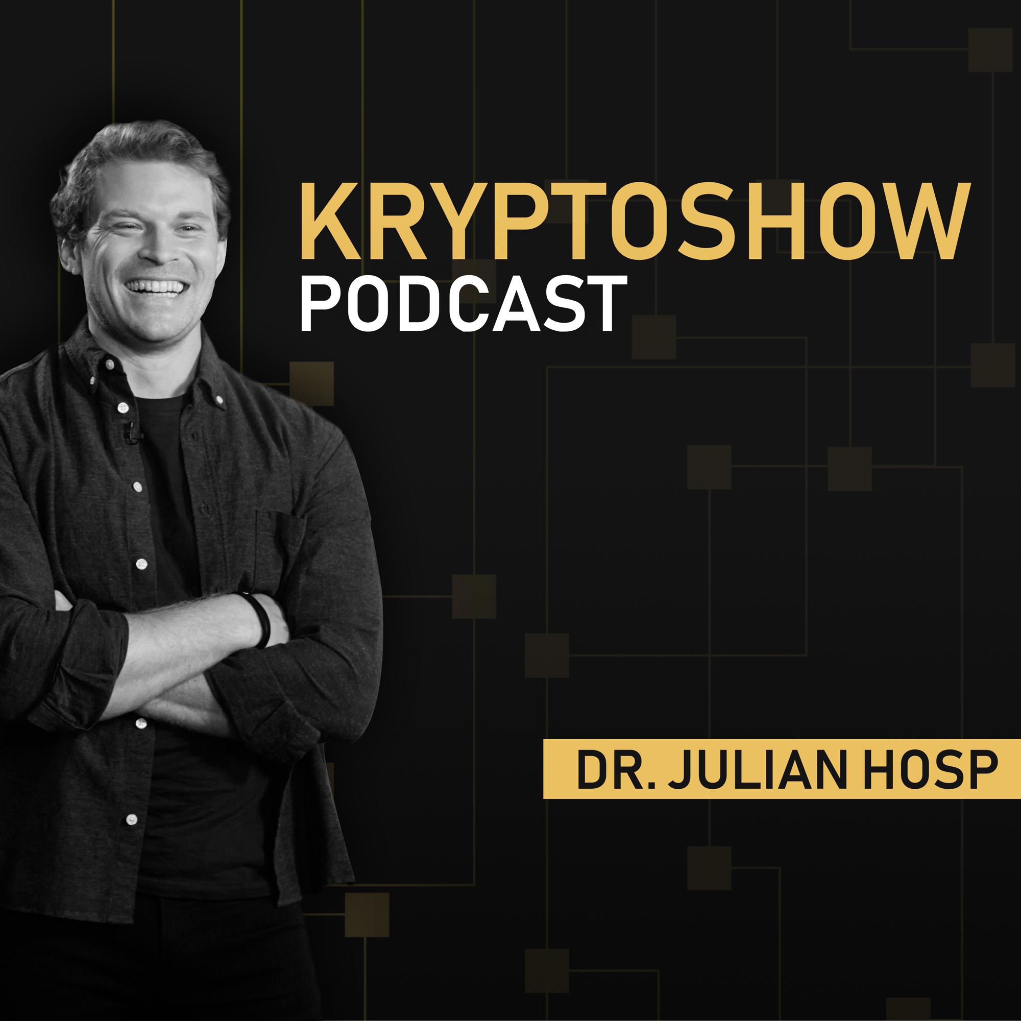 Artwork for #510 Blockchain: Heilsbringer oder Jobkiller? – Dr. Julian Hosp & Harry Behrens