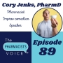 Artwork for Interview with Dr. Cory Jenks, Pharmacist, Improv Comedian, and Public Speaker