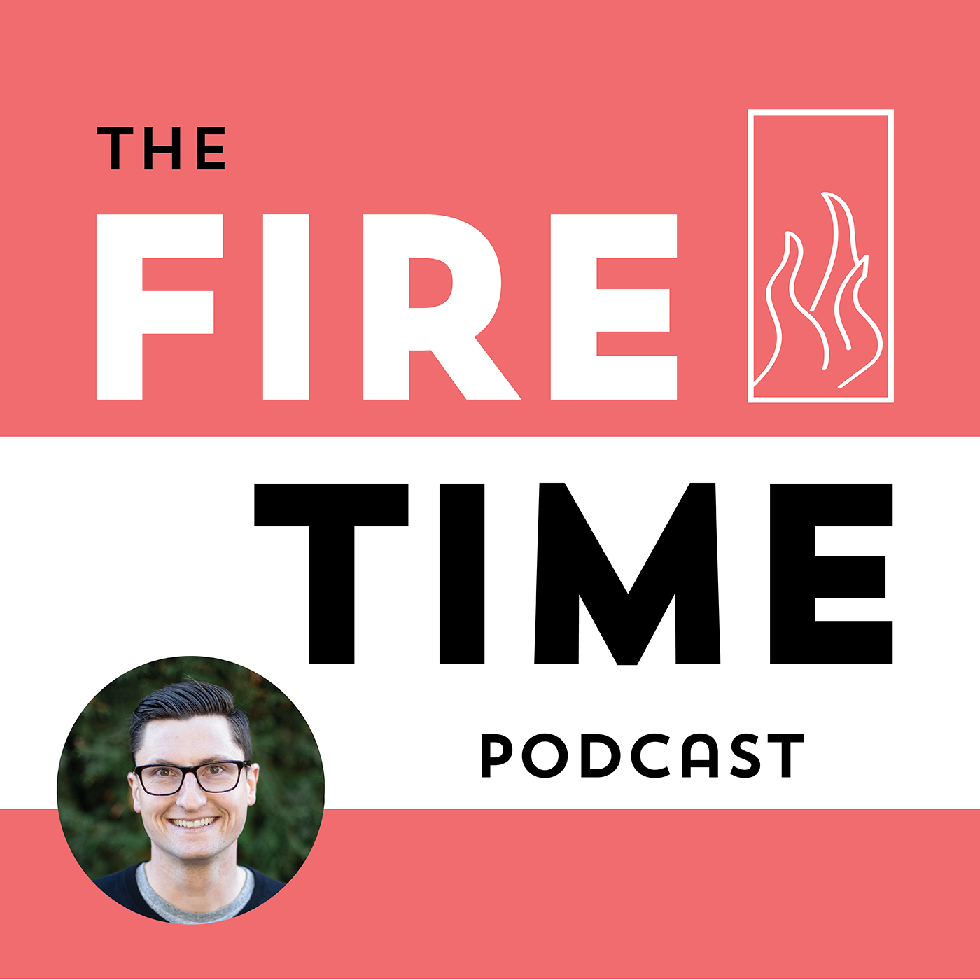 The Fire Time Podcast show art