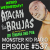 Monster Kid Radio #537 - A Night at Weird Wednesday with Jeff Polier and El Santo show art