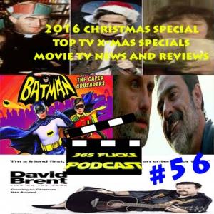 #56 365X-Massy Special 2016.. Top 5 Tv X-Mas Specials, Movies & Tv News, Geek Reviews