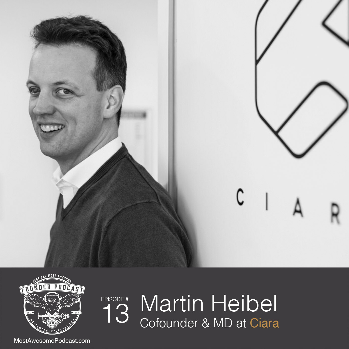 Ep. 13 - Founder-Market Fit with Martin Heibel