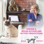 Artwork for  Megan Sutherland of Pictory Productions Lives a Dog Inspired Life
