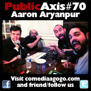 Public Axis #70: Aaron Aryanpur