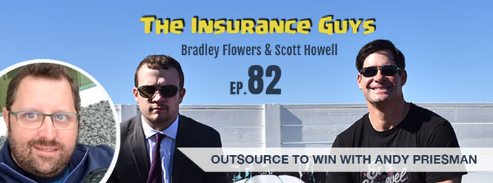 Andy Priesman | Cover Desk | Insurance Guys | Ep82