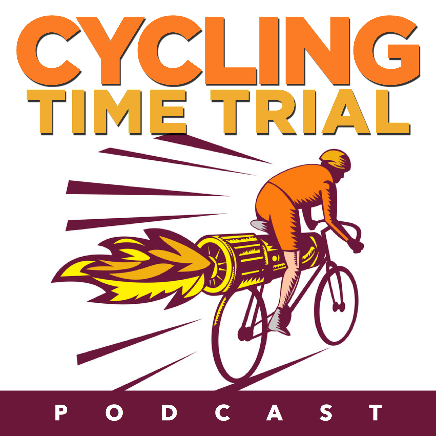Cycling Time Trial Podcast show art