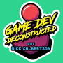 Artwork for Welcome to Game Dev Deconstructed — a behind the scenes look at how games are made and the people who make them.