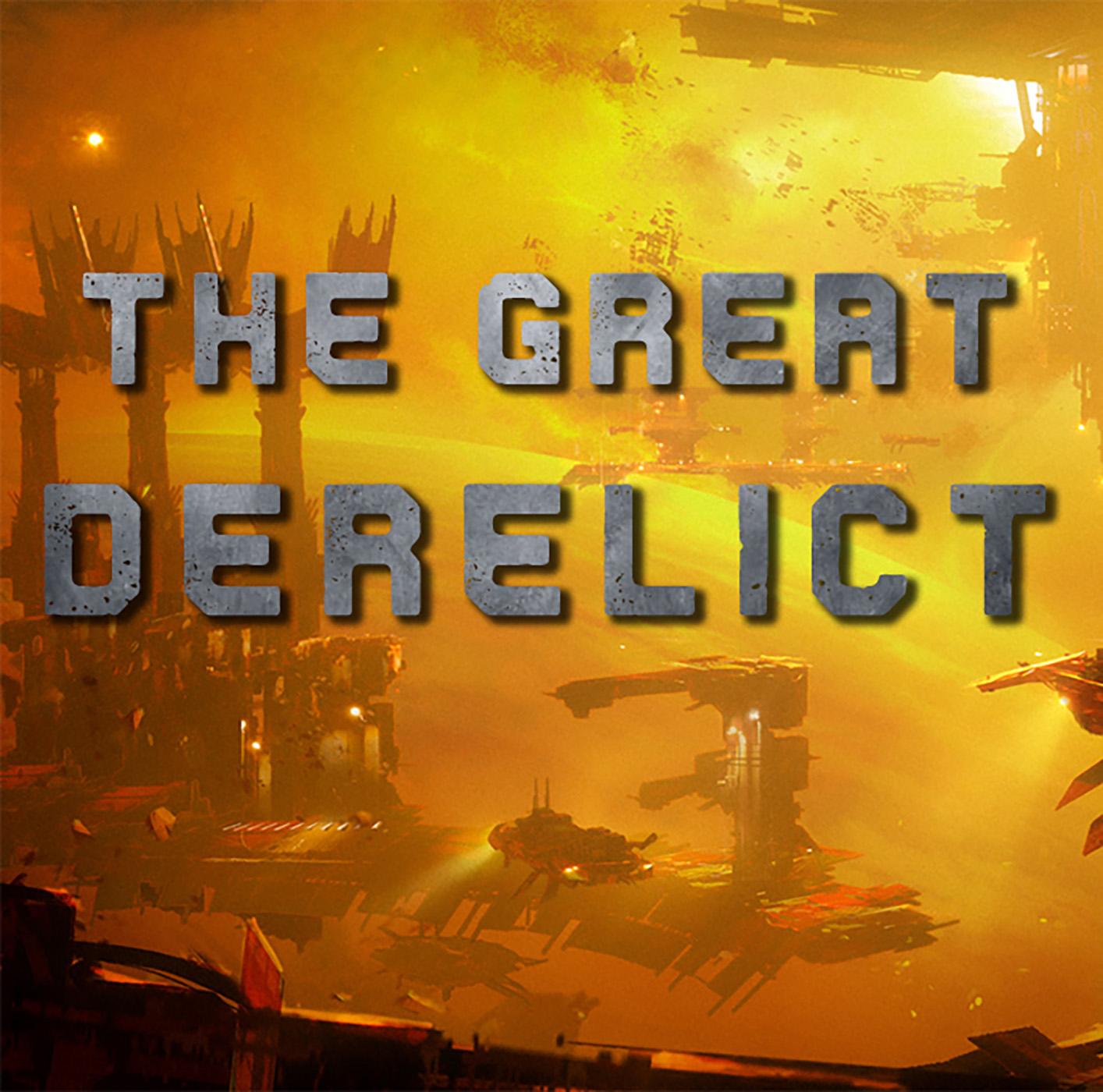 The Great Derelict show art