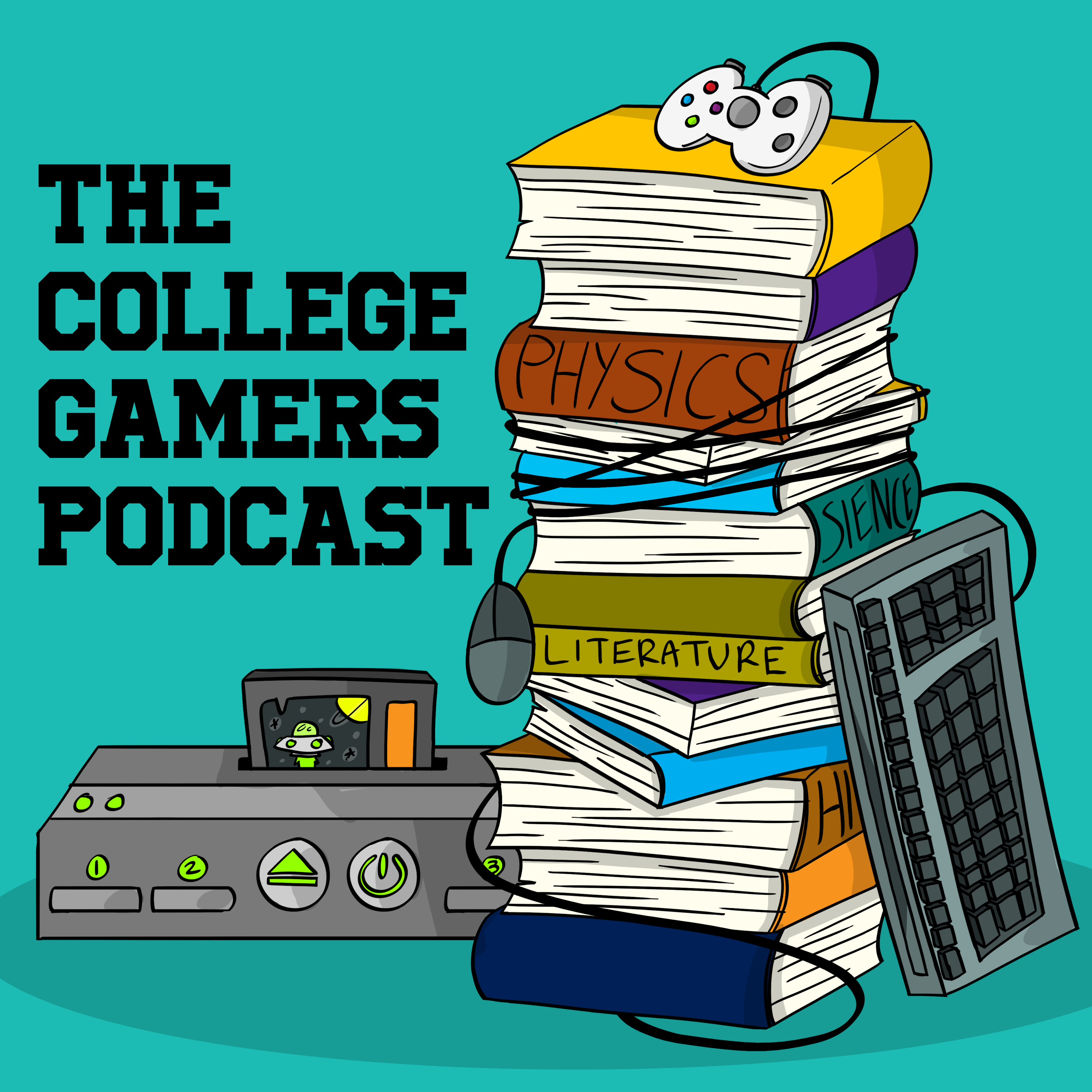 The College Gamers Podcast logo