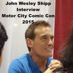 John Wesley Shipp Interview from Motor City Comic Con 2015