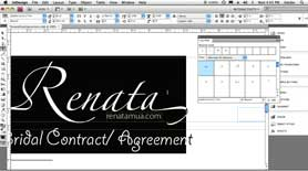 Using OpenType Glyphs in Photoshop via Illustrator