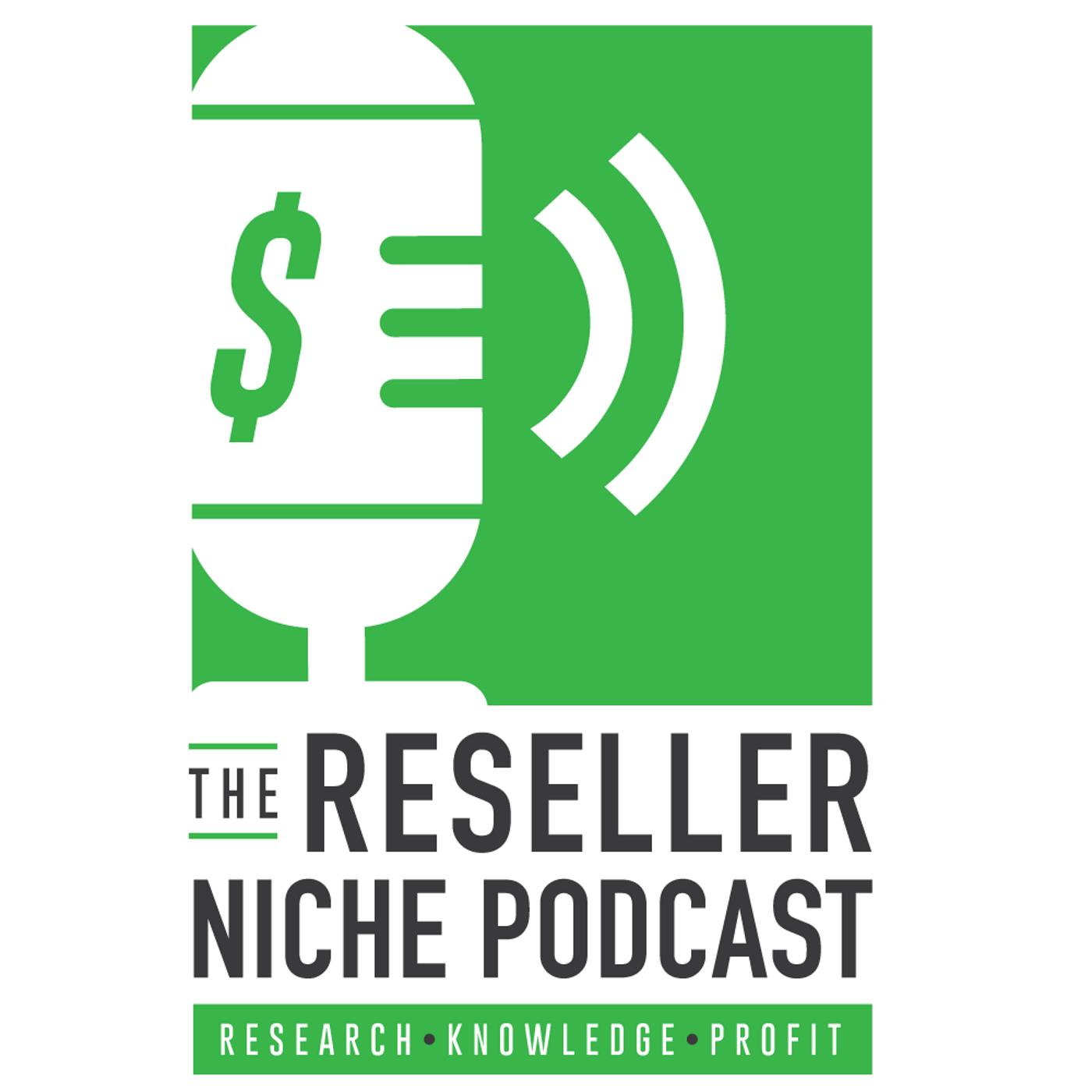 Reseller Niche Podcast show art