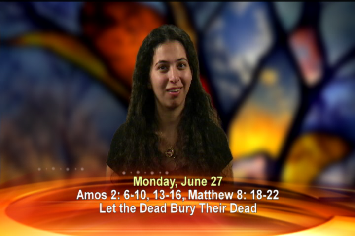 Artwork for Monday, June 27th Today's topic: Let the dead bury their dead
