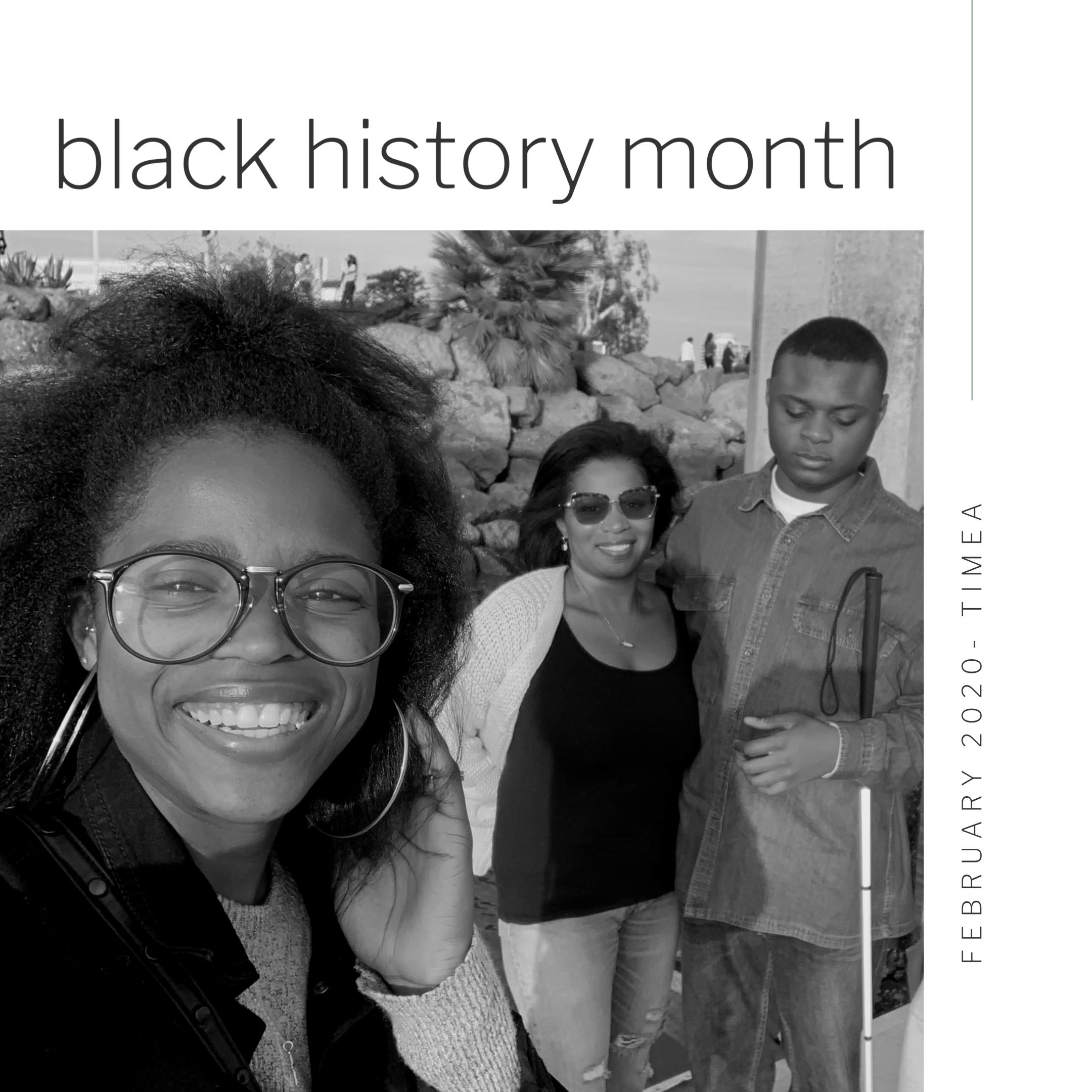 Black History Month - Part Two   Timea Walker