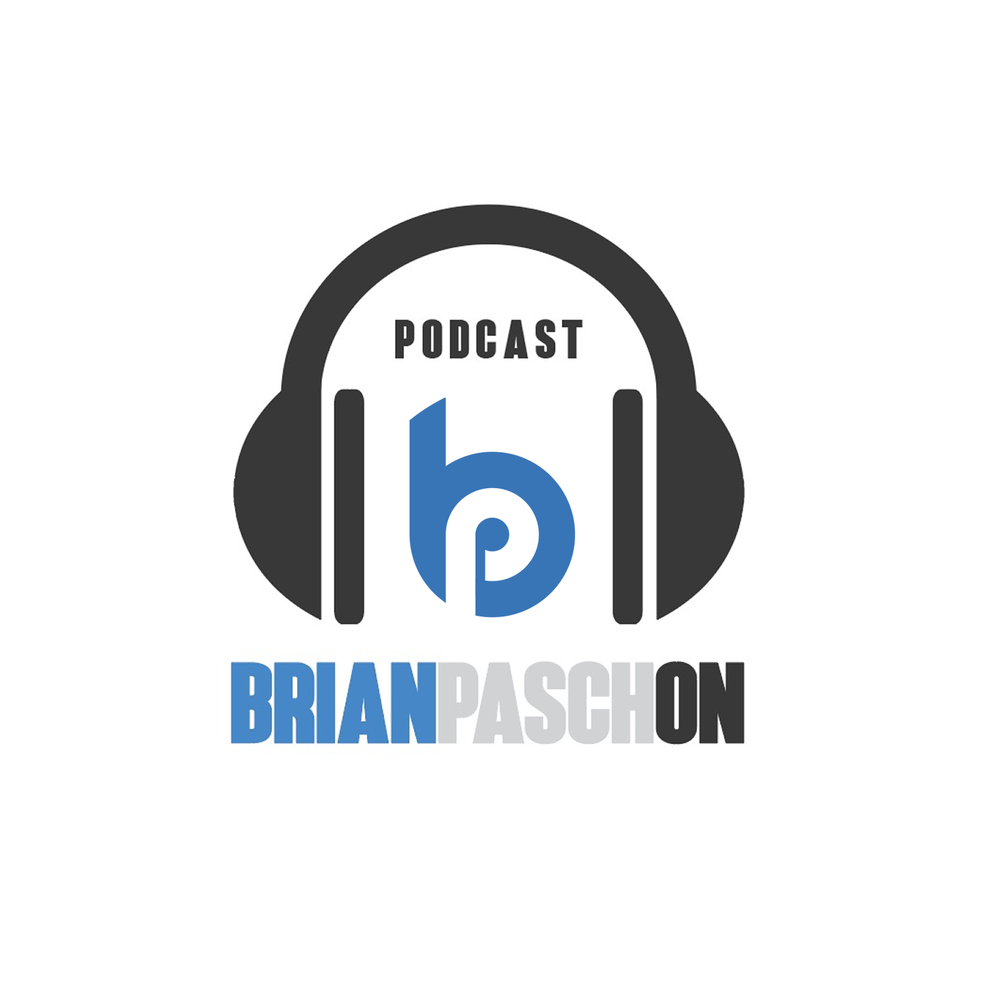 PaschOn PodCast with Brian Pasch show art