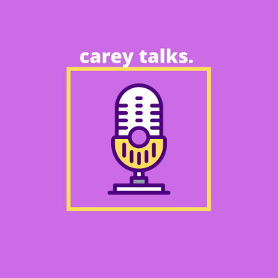 carey talks. show image