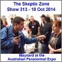 Artwork for The Skeptic Zone #313 - 18.Oct.2014