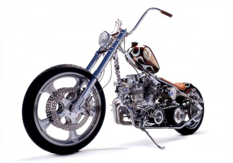 "#306:Bobby Seeger/Indian Larry Motorcycles ""HANDMADE"""