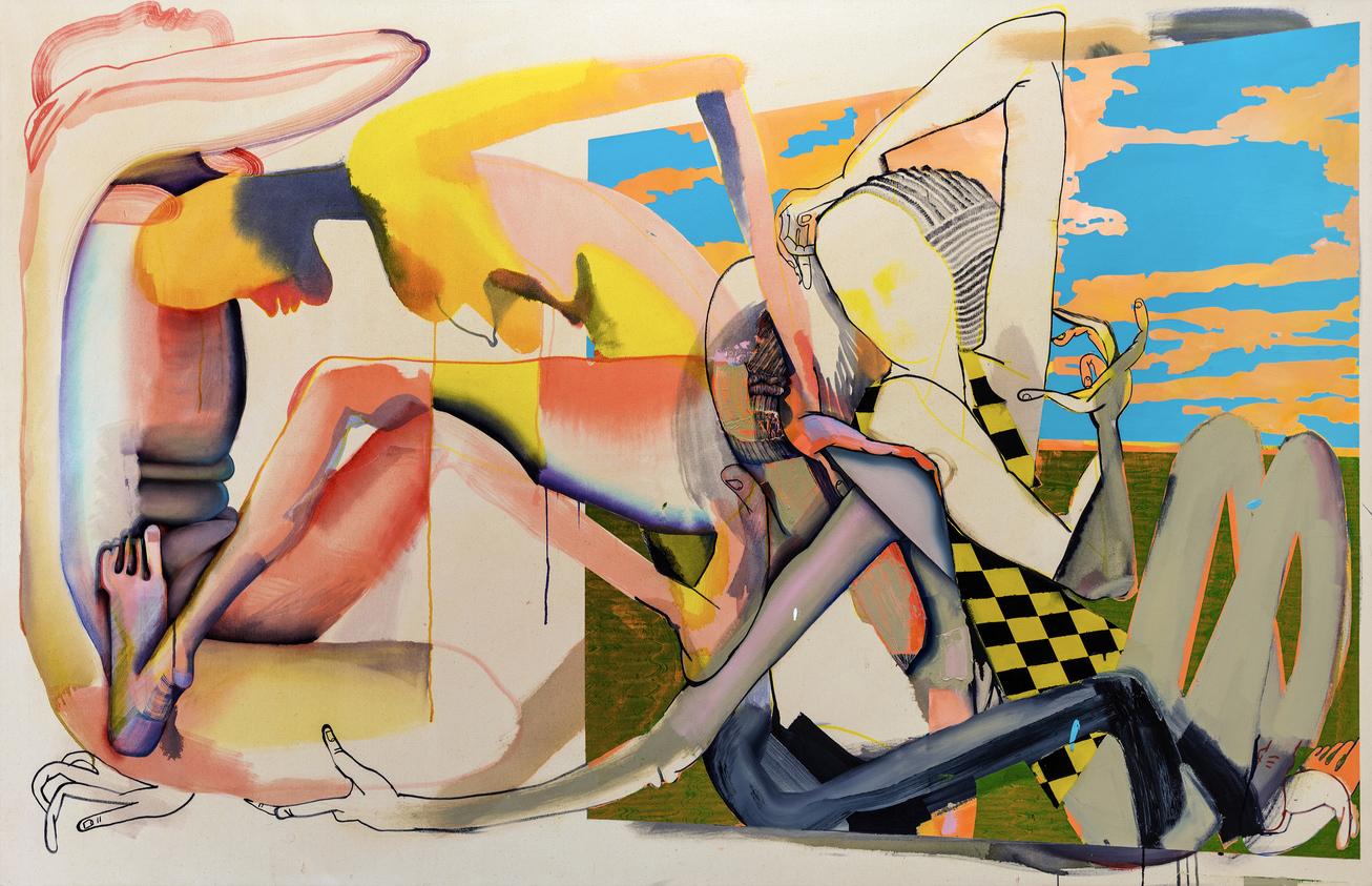 Christina Quarles Painting on view at MCA