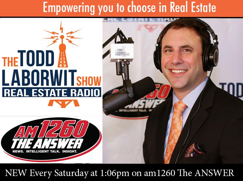 The Todd LaBorwit Show, Real Estate Radio show art