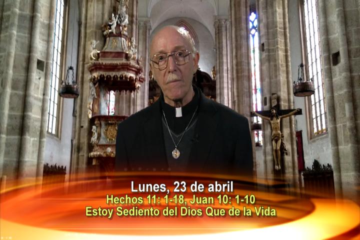 Artwork for Dios te Habla con Fr. Lenny de Pasquale;  Tema el hoy: Estoy sediento del Dios que de la vida