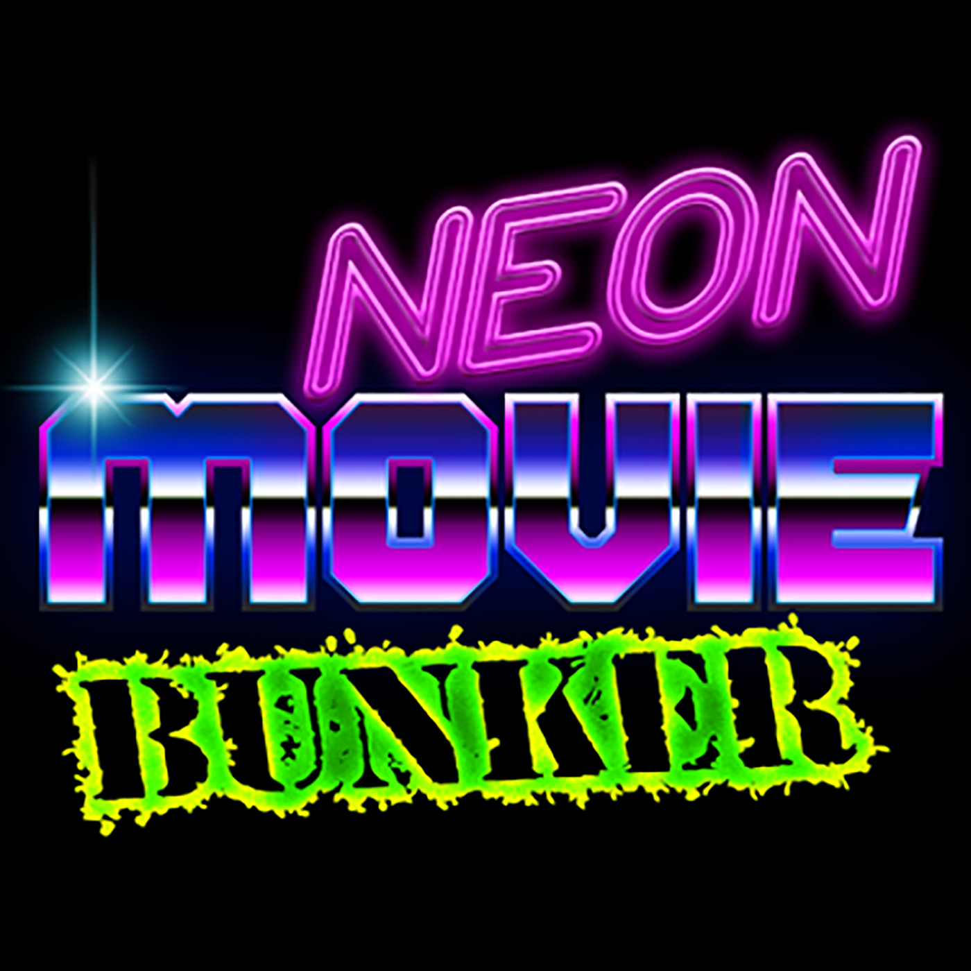The Neon Movie Bunker show art
