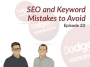 Artwork for Dodgeball Marketing Podcast #23: SEO and Keyword Mistakes to Avoid