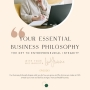 Artwork for Your Essential Business Philosophy