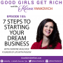 Artwork for 103 - 7 Steps to Starting Your Dream Business with Christine McAlister