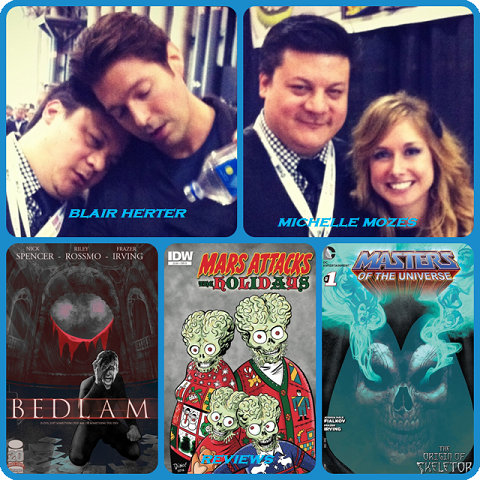 Episode 445 - NYCC Finale w/ Blair Herter (G4TV'S X-Play)!