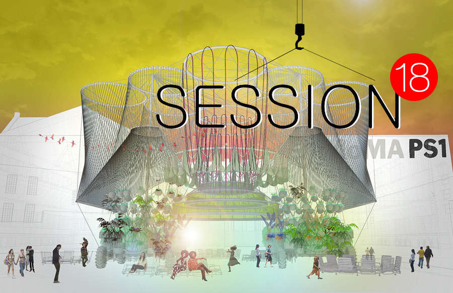 "Session 18: ""Moonwalking Or (The Expected Virtue of Social Architecture) with Andrés Jaque, winner of MoMA PS1's YAP"""