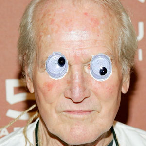 Googly Eyes On Paul Newman's Face