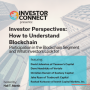 Artwork for Investor Perspectives – How to Understand Blockchain: Participation in the Blockchain Segment and What Investors Look for