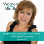 Artwork for EP #135: Weight Loss & Wake Up Calls in Midlife with Cookie Rosenblum, MA.