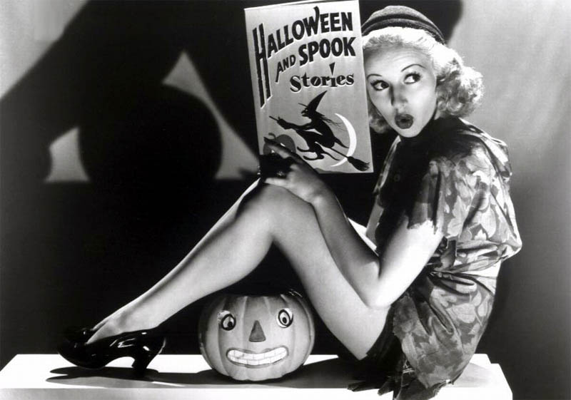 Betty Grable classic Hollywood Halloween