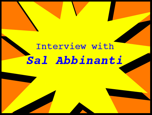 Cammy's Comic-Con Corner: WonderCon - Interview with Sal Abbinanti